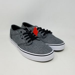 Vans Atwood Rock Textile Black Sneakers Men's 8.5